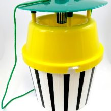 SILVALURE FUNNEL TRAP SET (BLACK & WHITE STRIPE)