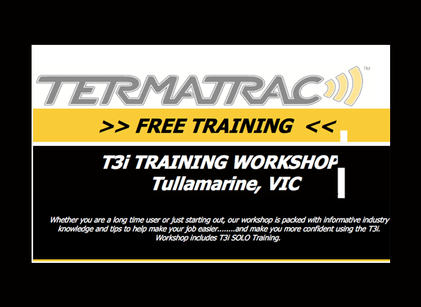 Termatrac - VIC Training Workshop