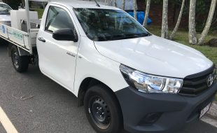 2017 Hilux with Sprayer & ute boxes